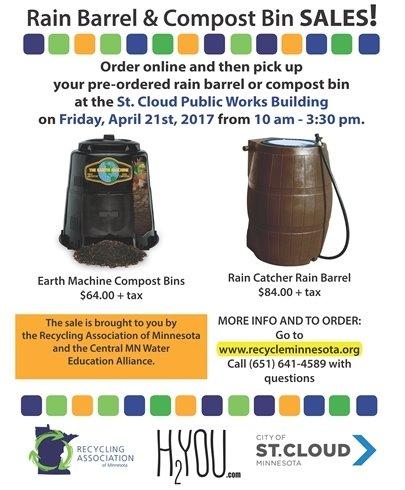Rain Barrel & Compost Bin Sales