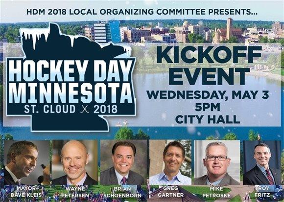 Hockey Day Minnesota Kickoff